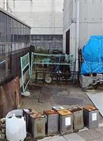 市道の一部を15年間不法占拠 勝手にフェンス、神戸市は放置