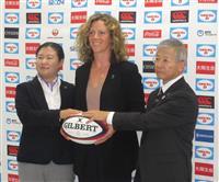 ラグビー女子日本HC就任のマッケンジー氏「まずは選手を」