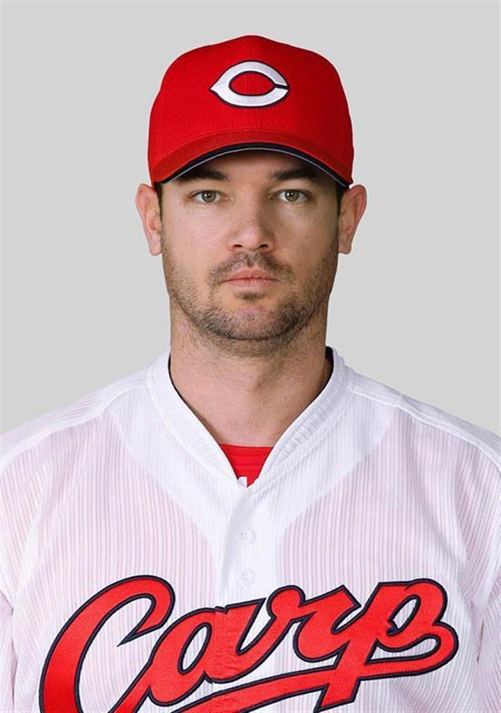 広島のクリス・ジョンソン投手