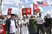 パラ競泳、開催剥奪に抗議 マレーシアのイスラム団体