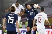 【サッカー日本代表】カタール戦速報(9)カタールにPK判定 再び日本2点ビハインド