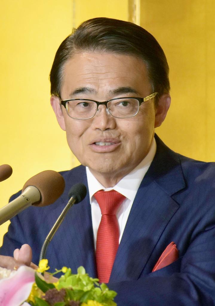 愛知県知事選 大村氏が圧勝で3選「日本をしっかり支える」 - 産経ニュース