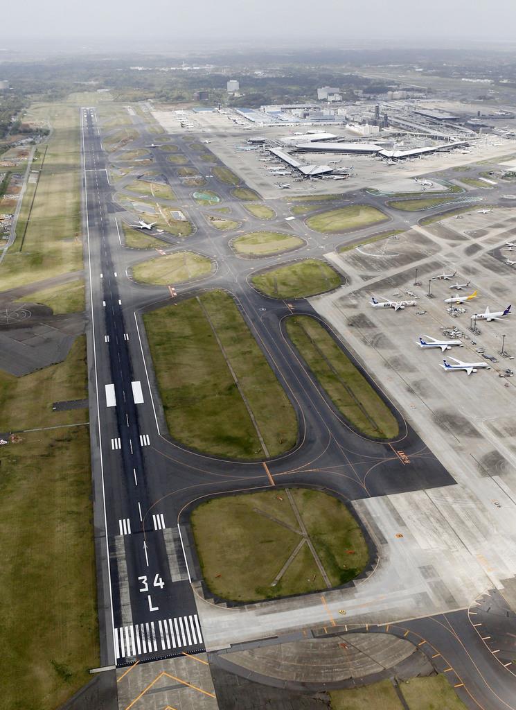 成田空港A滑走路 10月から1時間延長 開港以来初 - 産経ニュース