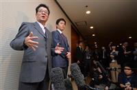 大阪知事・市長入れ替わり選、3月までに判断へ