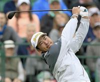 松山はパットに悩まされ15位 米男子ゴルフ