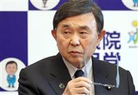 吉田博美氏、出馬判断は「年度内に」 自民参院幹事長