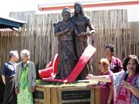 フィリピンまた「慰安婦像」 今度は制作者私有地に設置