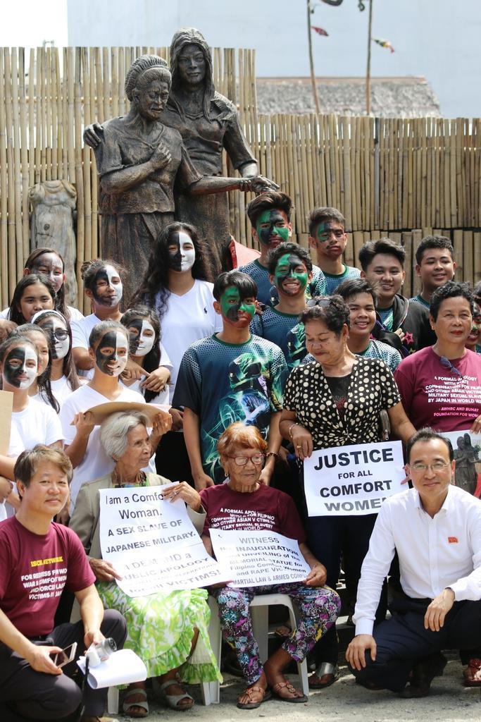 【フィリピン】「慰安婦像」(約145万円也)また設置 今度は制作者私有地で「これならば撤去圧力をかけられないはず」と作者