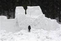 雪上カーニバル中止 新潟の雪まつり、雪像崩落受け