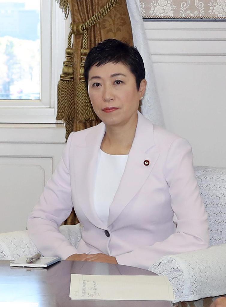 立憲民主党の辻元清美国対委員長(春名中撮影)