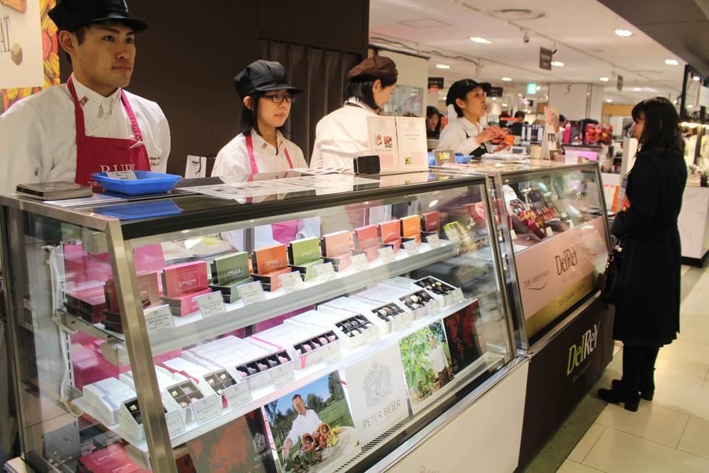 online retailer a6fe9 6b744 バレンタインはイートインで 京都で商戦佳境 - 産経ニュース