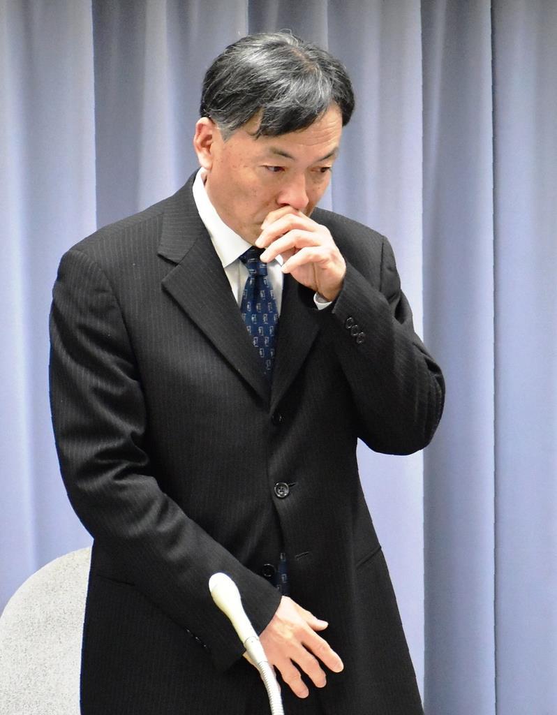 涙の静岡副知事、異例の「不出馬...