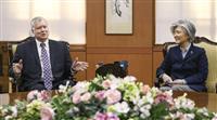 北朝鮮担当特別代表、対北協議について日韓に説明