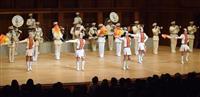 兵庫ゆかりの5曲を力強く 県警音楽隊が定期演奏会