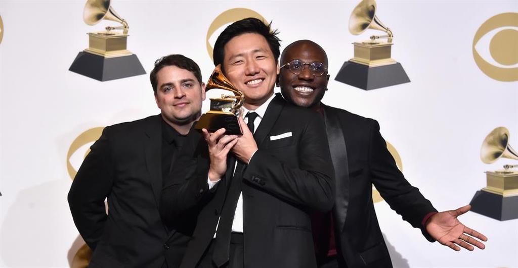 第61回グラミー賞の最優秀ミュージック・ビデオ賞を受賞したヒロ・ムライさん(Getty Images)