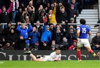 イングランドが2連勝 ラグビー6カ国対抗