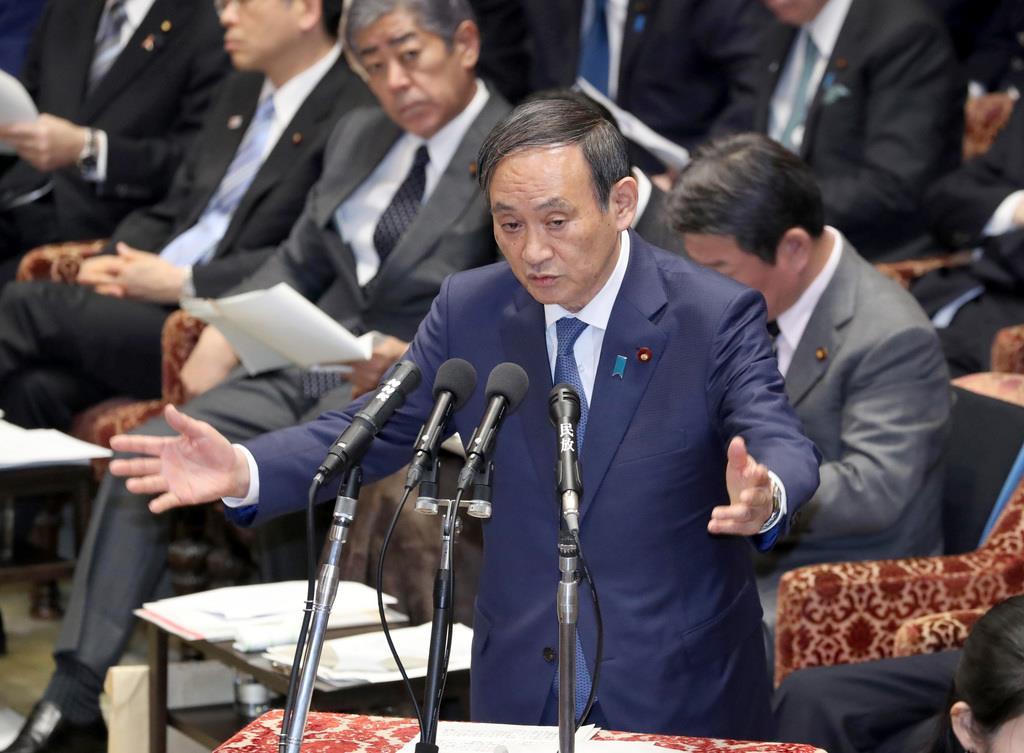 菅官房長官「取材でなく決め打ちだ」 東京新聞記者の質問めぐり