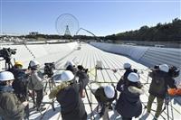 東京五輪競技会場を報道公開
