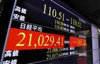 東証一時2万1000円回復 米中貿易協議の進展期待