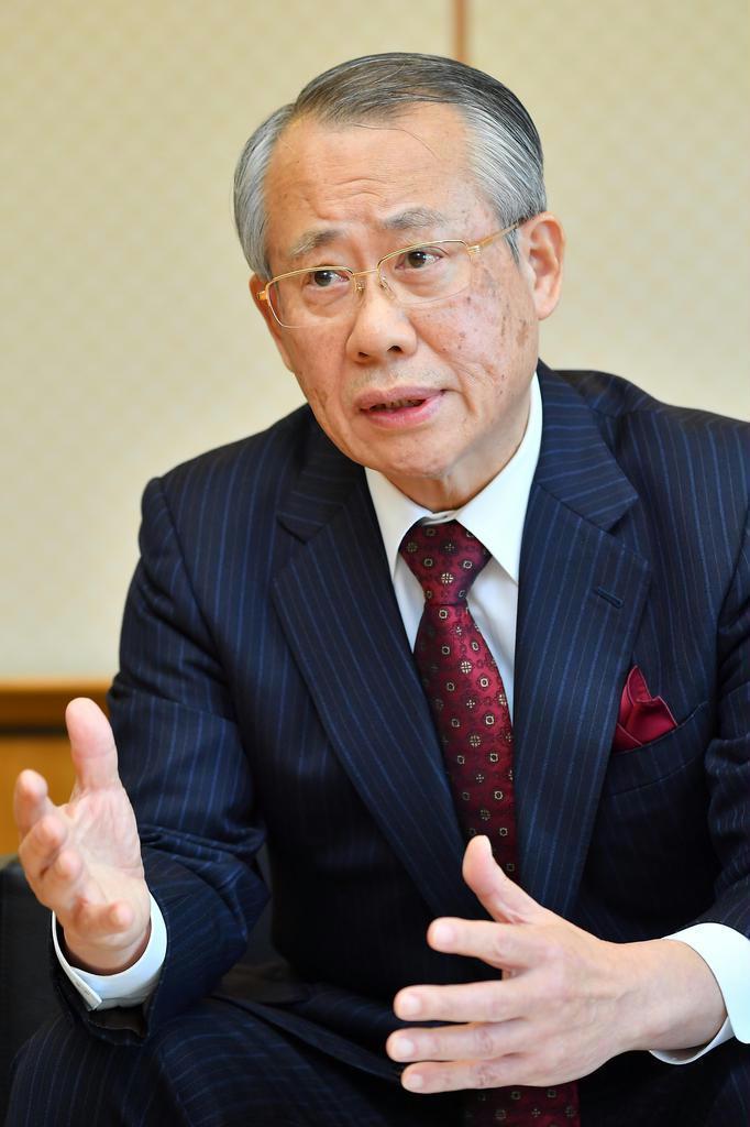 NHK常時同時配信 「聖火リレーまでに」 就任3年目・上田会…