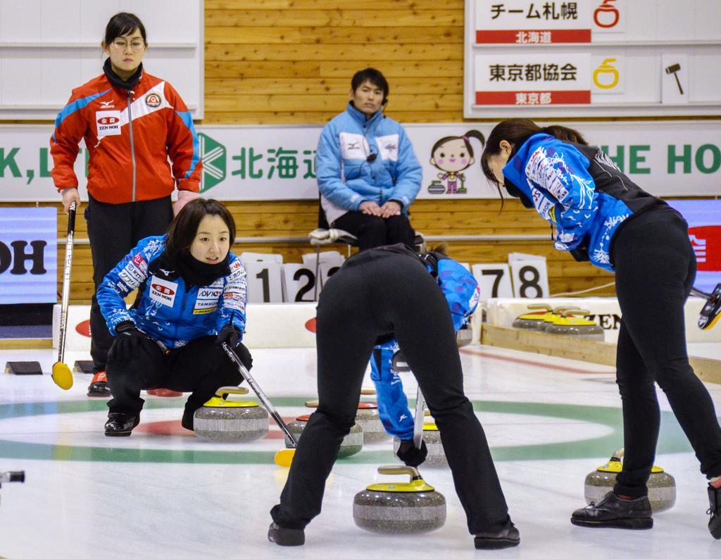 速報 選手権 カーリング 日本