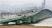 関空橋桁、取り付け完了 連休前に完全復旧へ