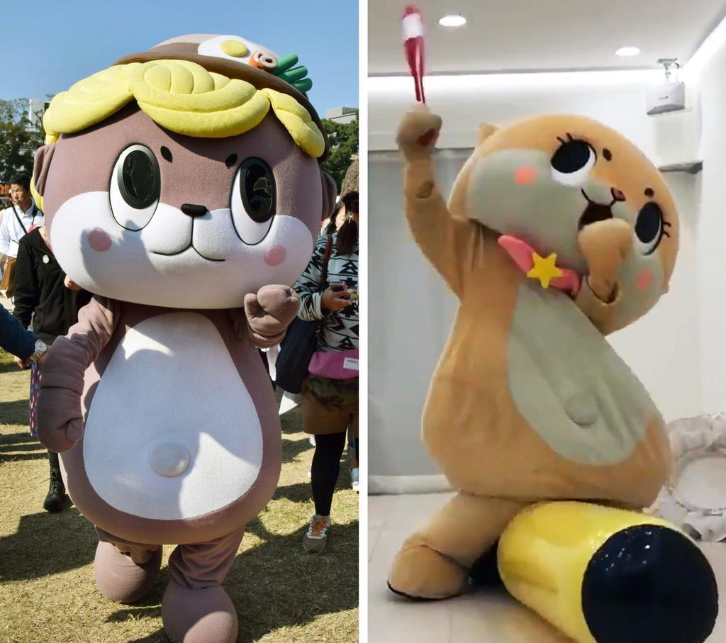 ちぃたん☆放送見合わせ 高知のマスコットに酷似