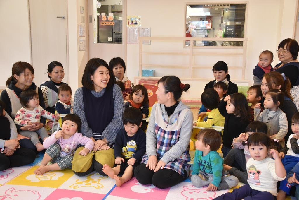 お笑い芸人の横沢夏子さんが職場訪問 茨城