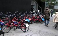 自転車シェアリング 10区で乗り捨て自由に 利便性向上、利用者も急増