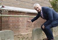 「日蘭の歴史の象徴」 長崎でオランダ人墓地修復