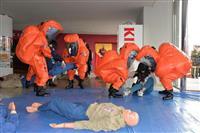 自衛隊・県警など連携、神戸で国民保護共同訓練 1000人参加