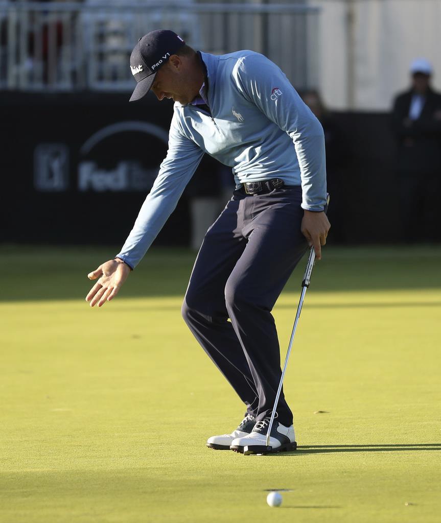 荒れた米男子ゴルフ 2位J・トーマス「風が怖くて」