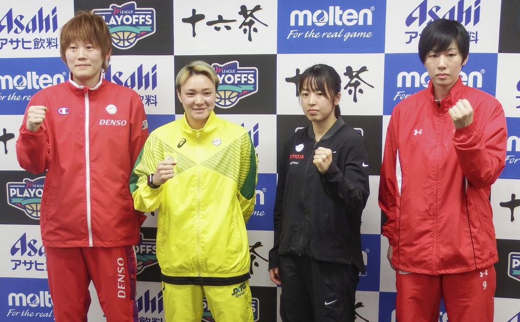吉田亜沙美「優勝したい」 バスケ女子WリーグPOへ抱負