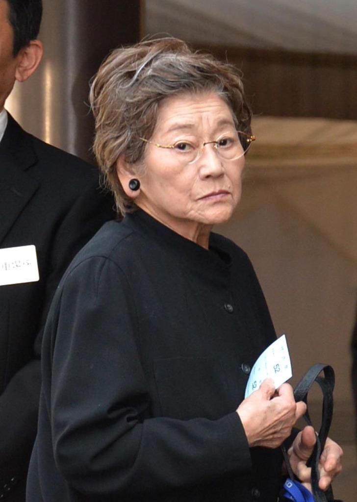 女優の佐々木すみ江さん死去