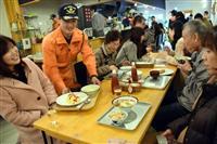 「まかない」は早い安いうまい 消防士が自慢の料理提供 収益全額を豪雨被災者支援に 岡山