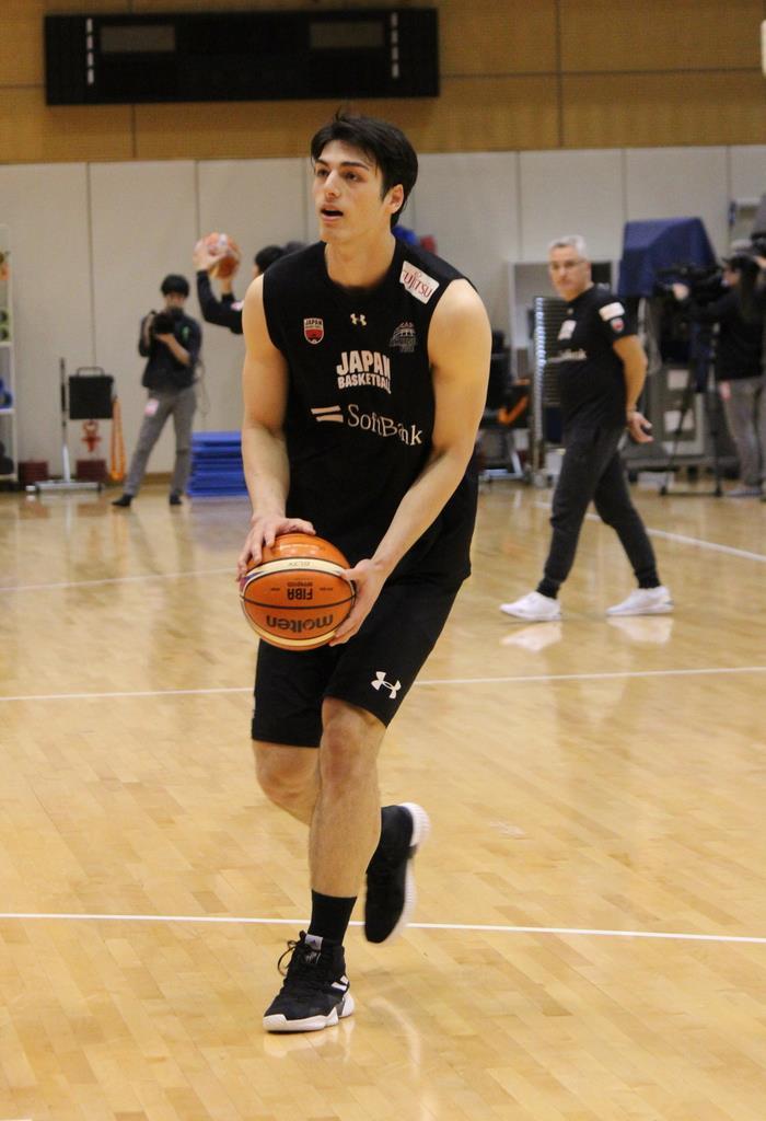 【バスケット通信】21歳シェーファー、日本代表W杯予選突破の…