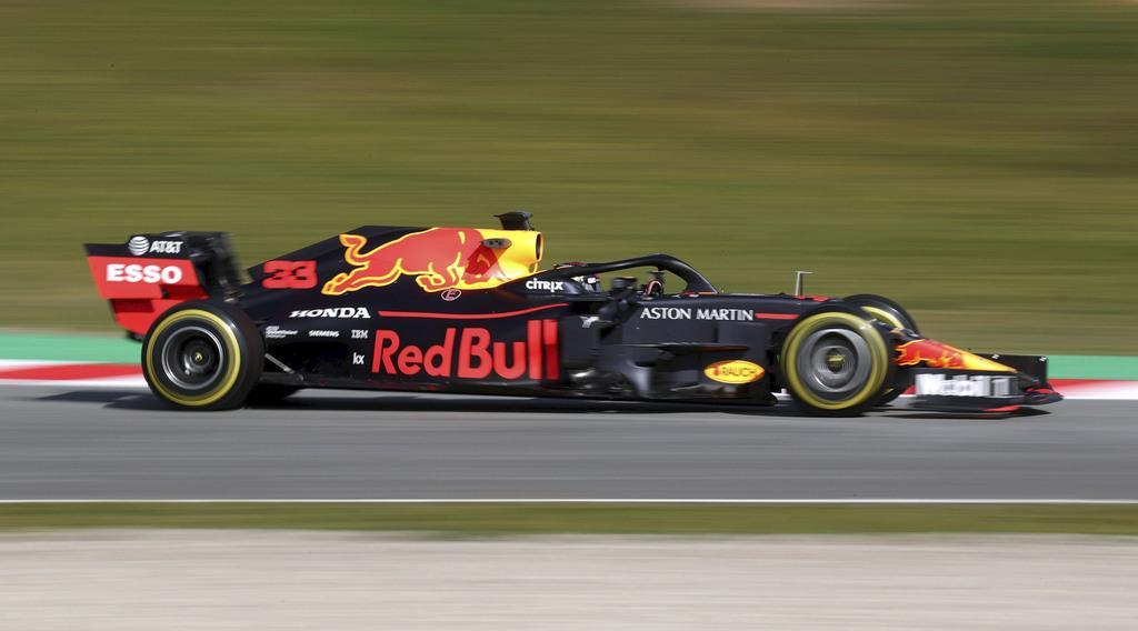 レッドブル・ホンダは4番手 F1合同テスト第1日