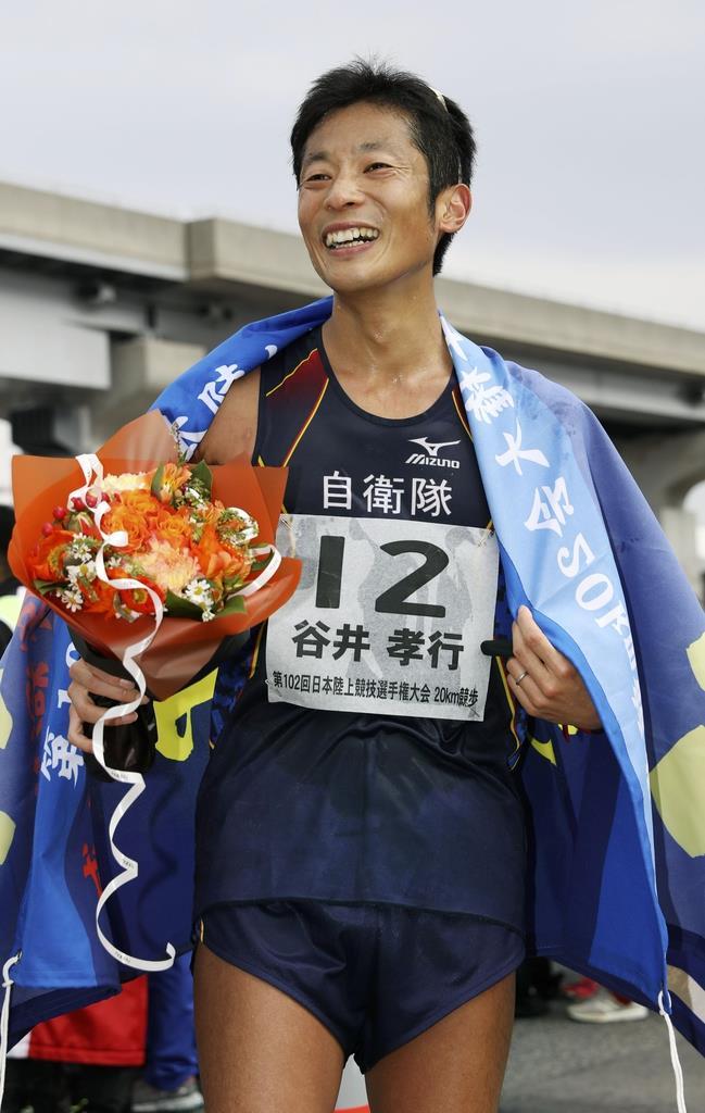 競歩の第一人者、谷井が現役引退「未来の競歩のために」