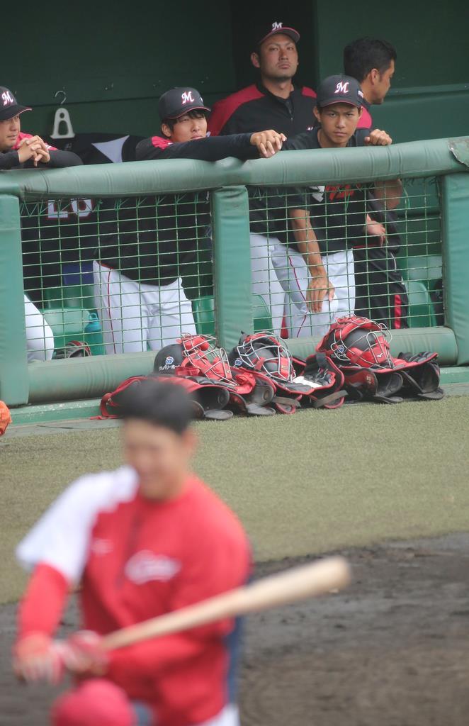 ロッテ・藤原、広島・小園との球友対決ならず「いつか互いに中心…