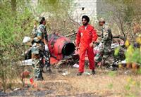 曲芸飛行の印軍2機が墜落 練習中に空中衝突か