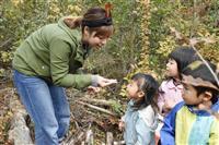 茶道や野山遊びも体験 認可外でも人気、個性派保育園