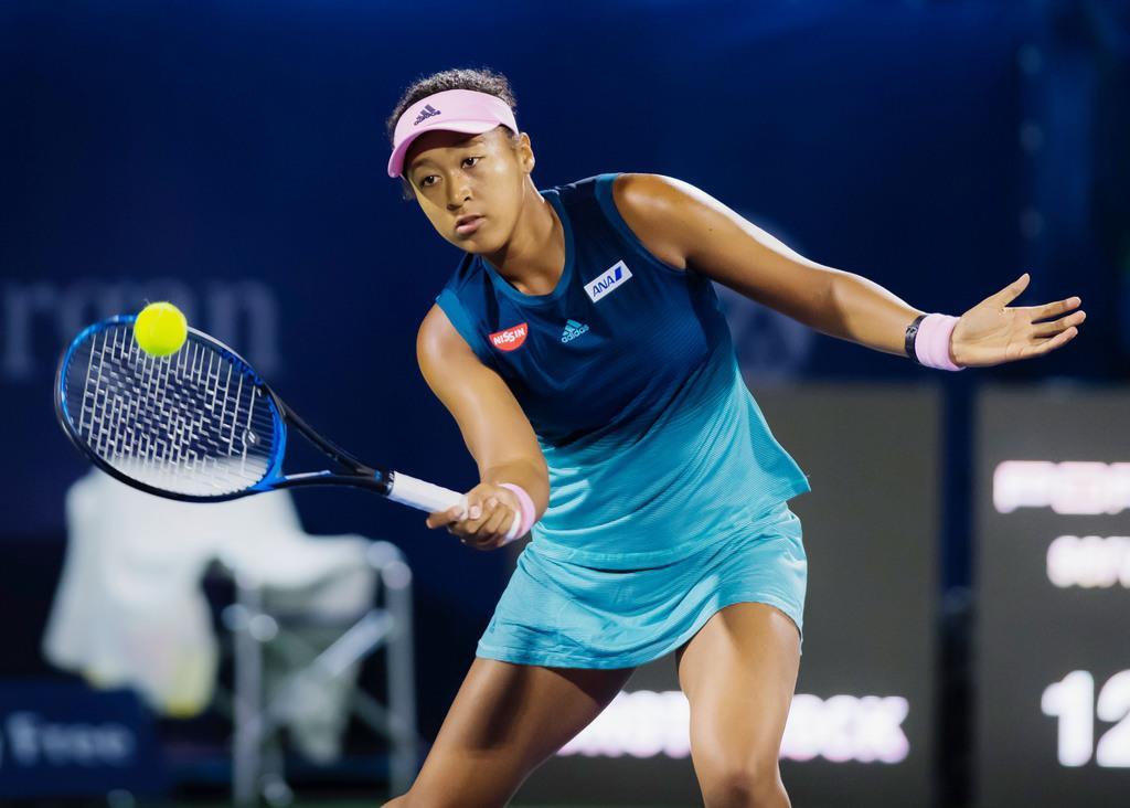 大坂なおみ、初戦で敗れる 女子テニスのドバイ選手権