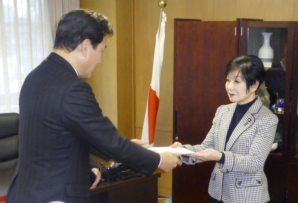 自民、田畑毅衆院議員の離党届を受理