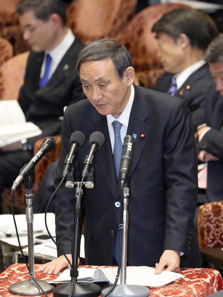 「大きな被害入っていない」北海道震度6弱 菅義偉長官