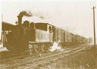 幻の出石鉄道SL、原寸大段ボール模型で復元へ