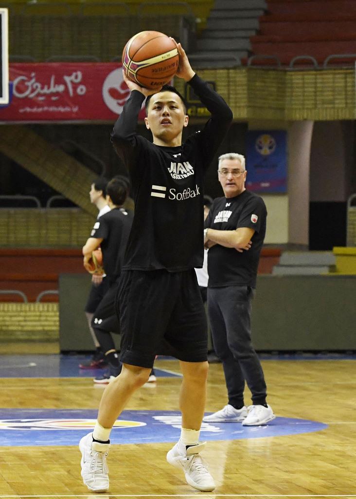 富樫「イラン戦で決めたい」バスケ男子代表が最終調整