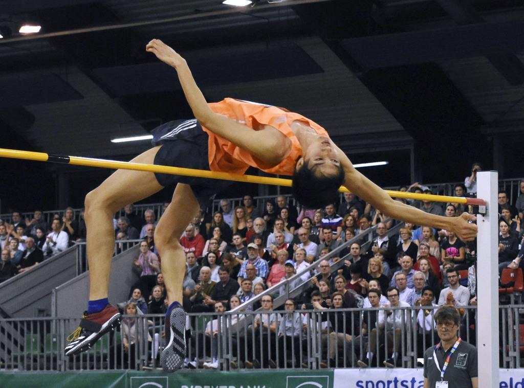 走り高跳び優勝の戸辺直人、世界陸上も「メダル現実的」