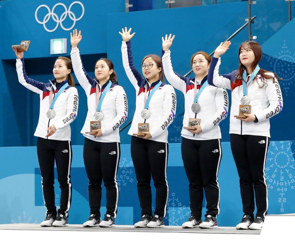 指導陣の暴言や横領認める 銀メダルの韓国カーリング