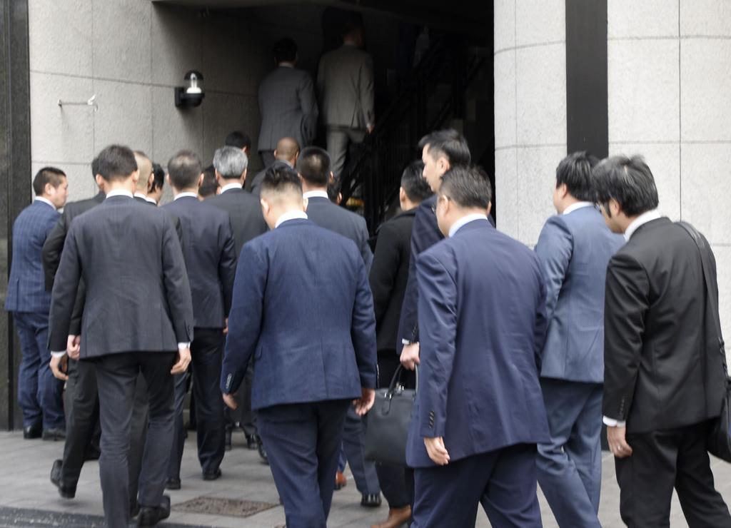 弘道会系事務所を家宅捜索 テキシア、出資金流出か