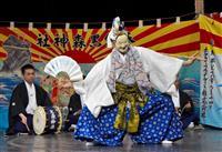 ハンガリー首都で伝統の舞 宮古と登米、被災地の神楽を初披露